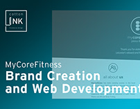 MyCoreFitness | Brand Creaton & Web Development | 2017