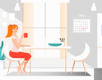 TaskUs Explainer Video and Web Illustrations