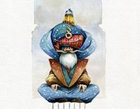"""Yog"" (book illustration, fairy tale)"