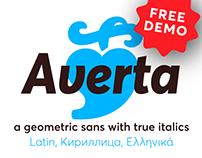 Averta Type Family + Free Demo