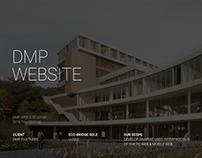 dmp Website UX/UI Renewal