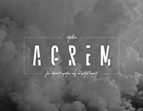 Agrem Sans - FREE Astronout Signature Font