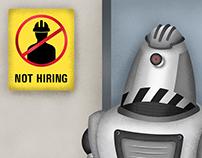 Not Hiring | AI Social Awareness Poster