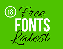 18 Latest Outstanding Free Fonts for Typography Project