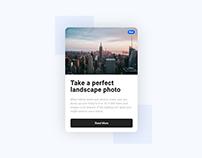 Daily UI 08 - Blog Card UI Design