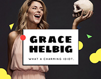 Grace Helbig, Official Website
