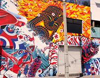 Tikix mural