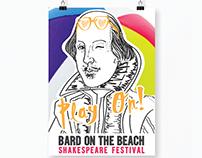 Bard On The Beach Festival Branding