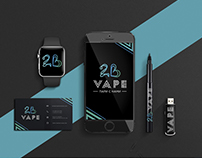 Logotype and Corporate Corporate identity for Vape
