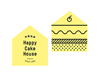 Happy Cake House Branding (: