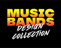 MUSIC BANDS DESIGN COLLECTION