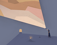 Illustrations for Ljubljana Puppet Theatre, season 2018
