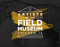Artists at the Field Museum