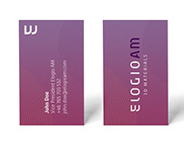 Visual identity and logo for Elogio AM