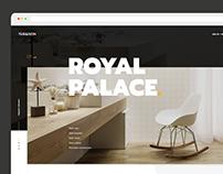 Tubadzin. Homepage website concept.