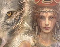 Princess Mononoke and Howl