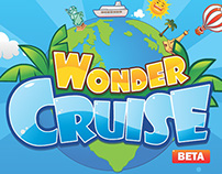 Facebook game UI-Wonder Cruise