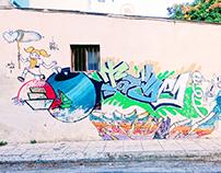 Τοιχογραφία στήν Ακαδημία Πλάτωνος - Athens Wall Design