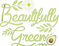 Beautifully green food blog.