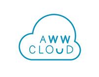 Aww Cloud Logotype