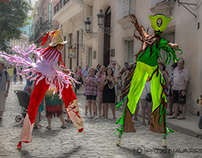 CUBA COLORS: Dancing in the street (for tourists)
