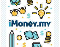 Infographic + Icons : iMoney