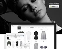Peridot London | Shopify Ecommerce Site