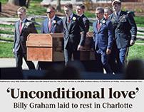 Billy Graham Burial