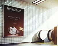 Baume & Mercier advertising design