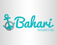Bahari, Photography & Video. Logotipo