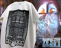 Haunted House // T-shirts