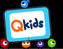 Qkids logo concept