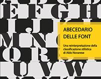 Folheto tipográfico Novarese