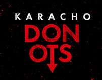 Donots - Karacho. LP Artwork.