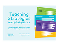 Facing History: Teaching Strategies for Twitter