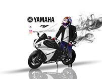 YAMAHA R1 illust