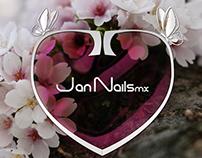 Brand Building: cliente JanNailsmx