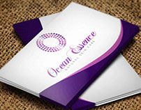 Ocean Essence - BCard  Design Concept