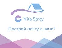 Mockup of the construction company Vita Story