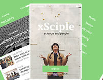 xSciple web app and native app experiment