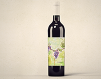 Celestina Wine Label Design