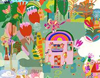 Illo Paintings & Prints