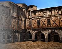 [3D] Castelnau de Montmiral (France) in 3D
