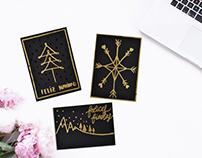 Handmade xmas cards.