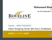 Roveline Business Card Design 2016