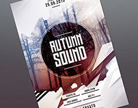 Autumn Sound Flyer