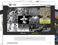 Proposta de Design para site de conservatório de Arte