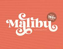 Malibu - Fancy Vintage Font