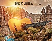Music Unites, guitar serial 1