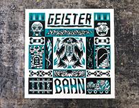 Geisterbahn / Woodcut / 2017